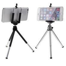 лучшая цена Unique Design Phone Holder Stand Accessory Aluminum Alloy Phone Holder  Tripod Mount