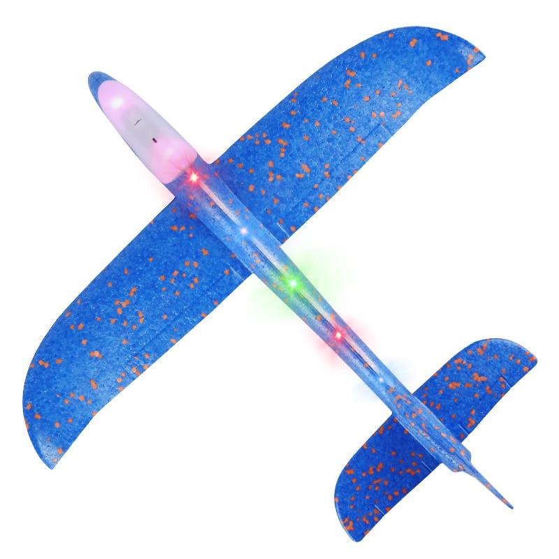 48 см ручной бросок самолета EPP пены Запуск Летающий планер модели самолетов самолет открытый забавные игрушки для детей игра партии