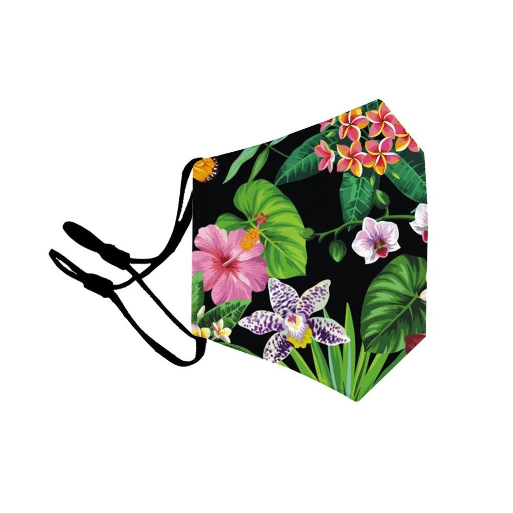 H6e34866a619a45ac9cd0768f50e4eacfe adult facemask flower print adjustable cotton maske mondkapje maska tapabocas dropshipping