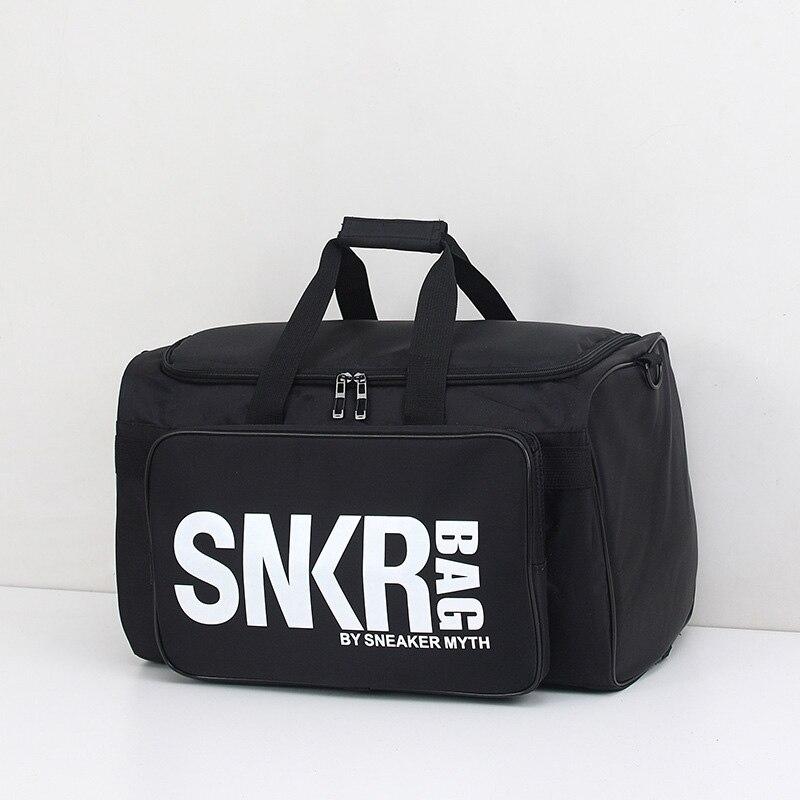 Men's Multi-purpose Sneakers Storage Bag Sports Fitness Bag Basketball Bag Large Capacity Luggage Bag Portable Shoulder Bag