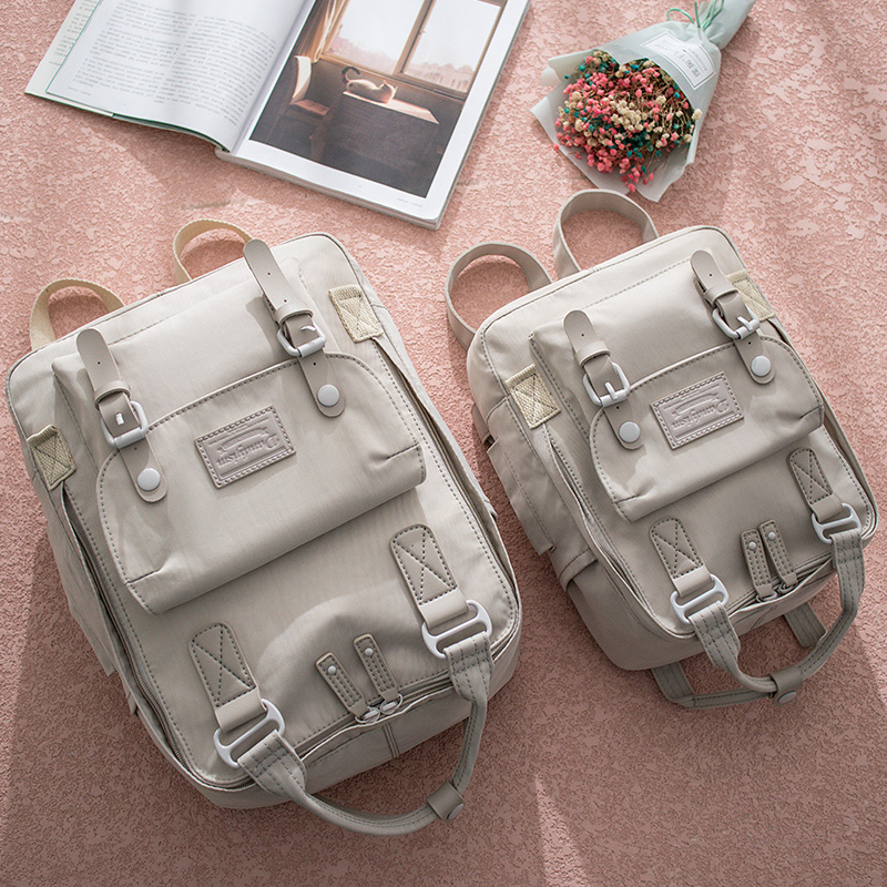 School Bag Girl Korean Version Of High Students Super Fire Backpack Student Campus Large Capacity Oxford Cloth Backpack Tide