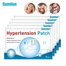 Sumifun – Patch à base de plantes pour lutter contre l'hypertension, 30 pièces/5 sachets, réduit la pression artérielle, nettoie les vaisseaux sanguins, plâtre, produits de soins
