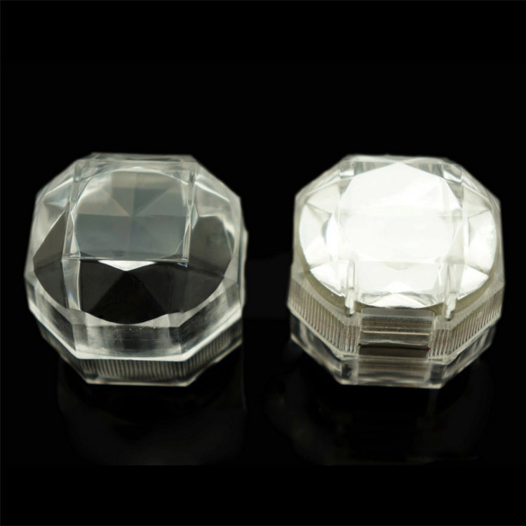 Manufacturers Direct Selling Acrylic Transparent Box Ring Jewlery Box Earrings Box Wholesale Taobao Hot Selling