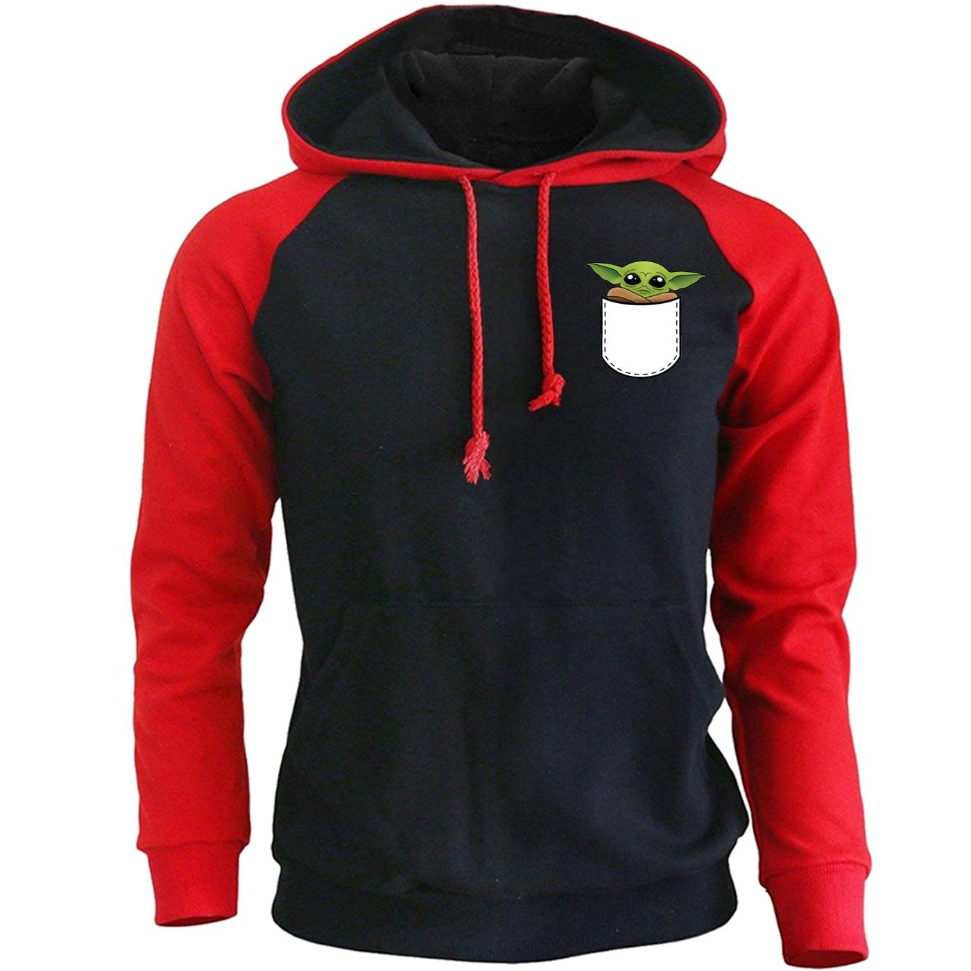 Baby Child Yoda Hoodies Men The Mandalorian Star Wars Mens Sweatshirt 2020 New Spring Casual Lovely Hoodie Streetwear Sportswear