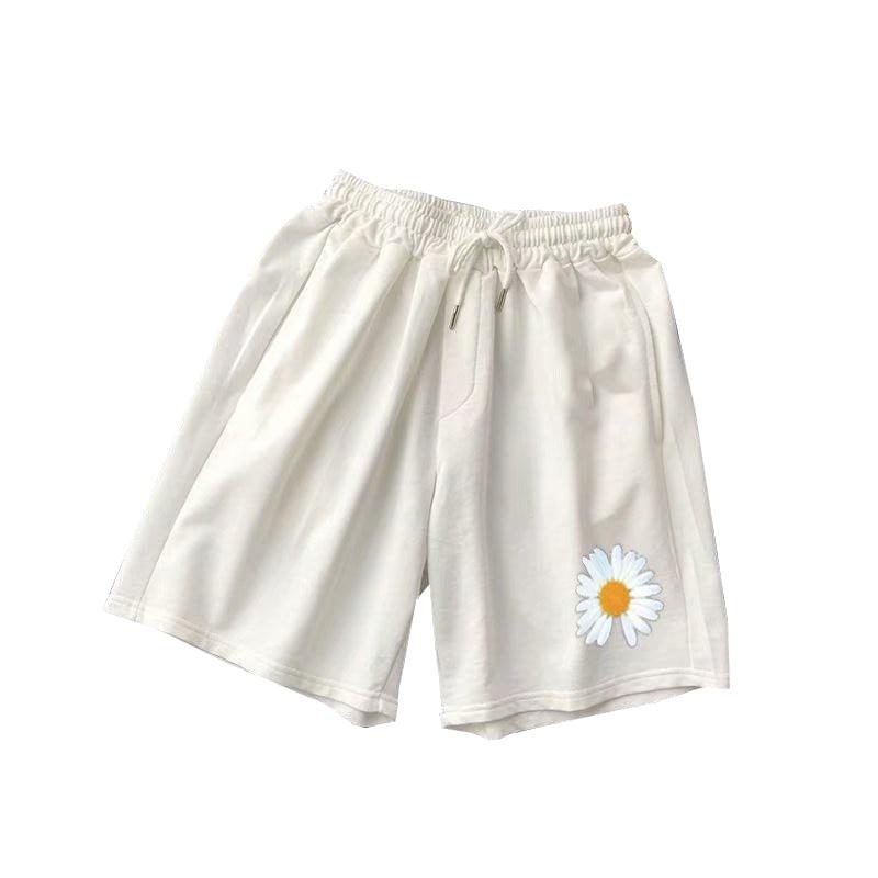 2020 Men Printed New Beach Shorts Men's Streetwear Casual Aweatpants Male Colorful Korean Knee Length Shorts Summer M-3XL