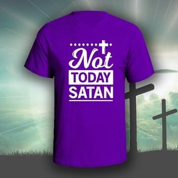 Hoy no Satanás 2, camiseta gráfica, Biblia Cristiana, Dios (1)