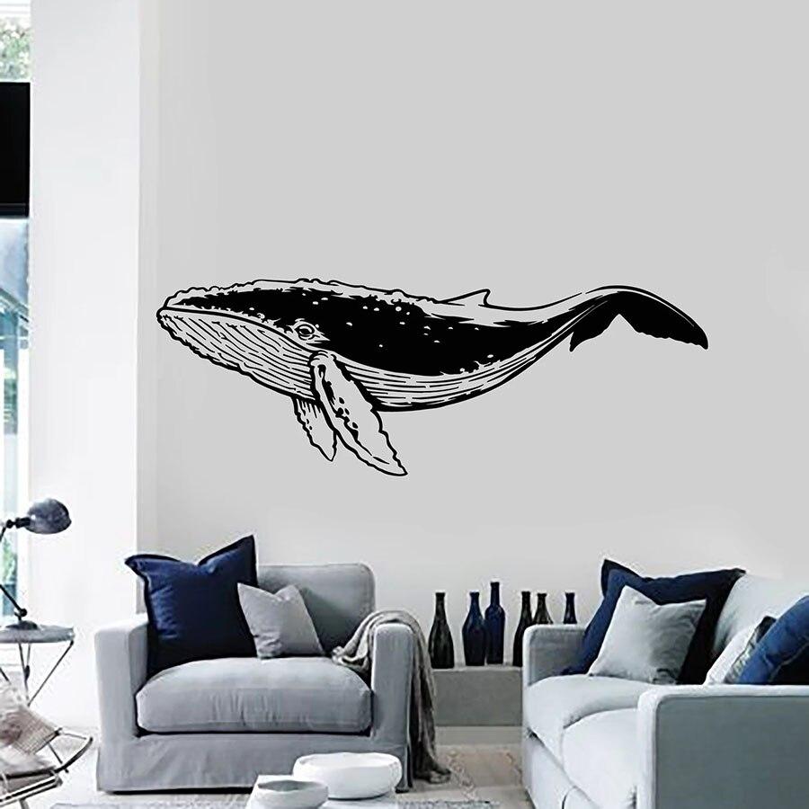 Patr/ón de ballena ni/ños medidas de altura pegatinas de pared pintura decorativa pegatinas lindas para puertas decoraci/ón del hogar