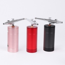 0.3mm Airbrush Makeup Kit With Compressor Spary Gun 0.3mm Nozzle Face Skin Facial Decorating Tool Nail Art Paint Tattoo Airbrush