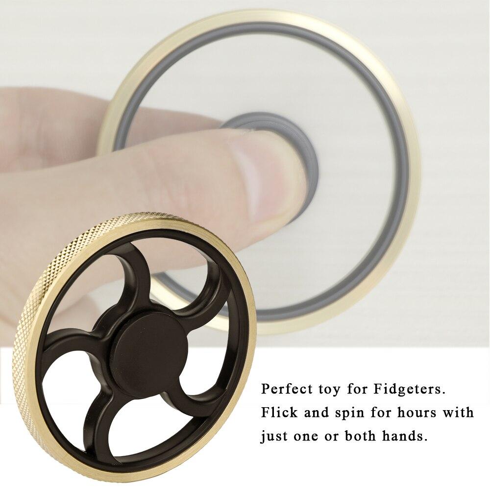 Fingertip Gyro Round Fidget Spinner Spinner Gyro Spinner Hobbies Decompression Toy Finger Fitness Equipments Fidget Spinner