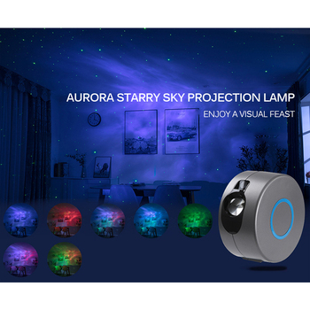 USB LED Night Light Colorful Starry Sky Projector Romantic Projection Lamp Remote Control Light Birthday Gift tanbaby led colorful rainbow novelty kids night light romantic sky led projector lamp luminaria home party birthday gift dmx dj