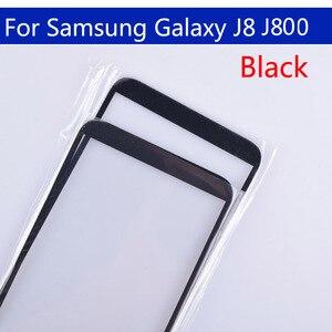 Image 3 - 10Pcs Voor Galaxy J8 2018 J810 J810F J810DS On8 Touch Scherm Front Outer Glas Voor J8 2018 J800 Touchscreen lens Voor J8 Plus J805