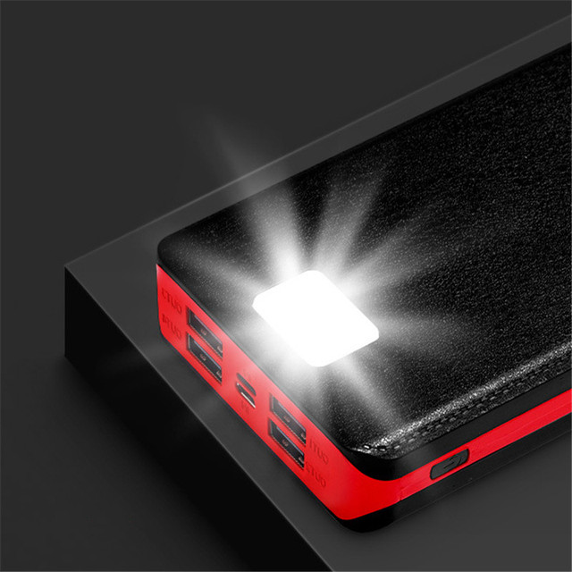 80000mAh Solar Power Bank Portable Phone Fast Charging Large-capacity External Battery Poverbank Outdoor Travel Charger
