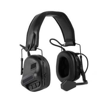 Casque tactique Militaire standard Schieten Oorbeschermer Gebruik Met PTT talkie-walkie Radio Airsoft casque tactique