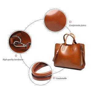 Image 5 - Valenkuciหนังกระเป๋าถือใหญ่ผู้หญิงกระเป๋าลำลองหญิงกระเป๋าTrunk Toteกระเป๋าสะพายยี่ห้อที่มีชื่อเสียงผู้หญิงBolsos