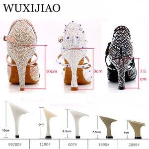 Image 3 - Женские кроссовки WUXIJIAO для джаза, сальсы, латинских танцев