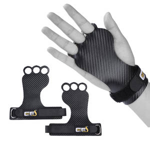 Hand-Grips Grip-Gloves Weight Lifting Workout-Palm-Protector Pullups Carbon-Gymnastics
