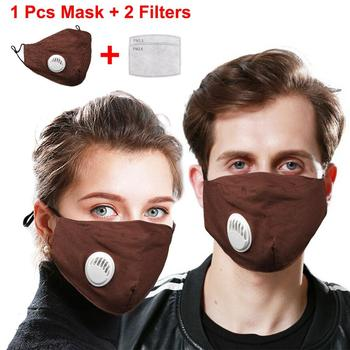 10PC Cotton 2p PM2.5 mouth Mask anti dust mask Activated carbon filter Windproof Mouth-muffle bacteria proof Flu Face masks Care