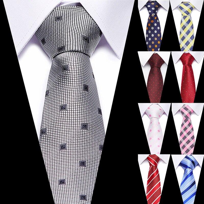 Slim Solid Pattern Formal Mens Tie Silk Necktie,Woven Jacquard Neck Ties Wedding Handcrafted