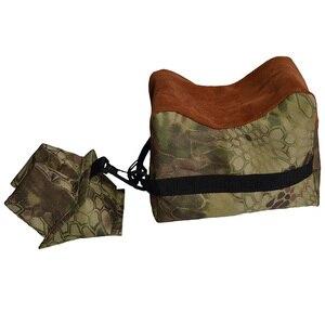 Image 3 - Set di borse per il riposo posteriore per tiro morbido portatile Set di fucili da caccia per bersaglio anteriore e posteriore allaperto accessori per la caccia con supporto non riempito
