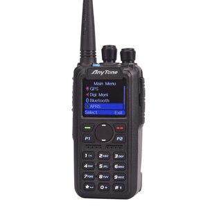 Image 2 - 햄 라디오 Anytone AT D878UV 플러스 디지털 DMR 및 아날로그 UHF/VHF 듀얼 밴드 블루투스 PTT 워키 토키 GPS PC 케이블로 APRS 라디오