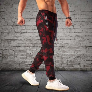 Image 3 - 2020 הסוואה ריצה מכנסיים גברים ספורט חותלות כושר גרביונים כושר Jogger פיתוח גוף מכנסי טרנינג ספורט ריצת מכנסיים מכנסיים