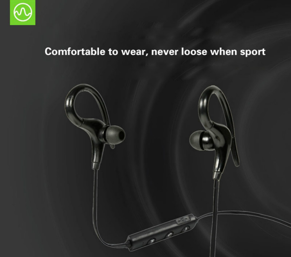Sport Bluetooth Earphone Wireless Bluetooth Headphone with Microphone For Phones Xiaomi iPhone Samsung IOS Android phone Headset