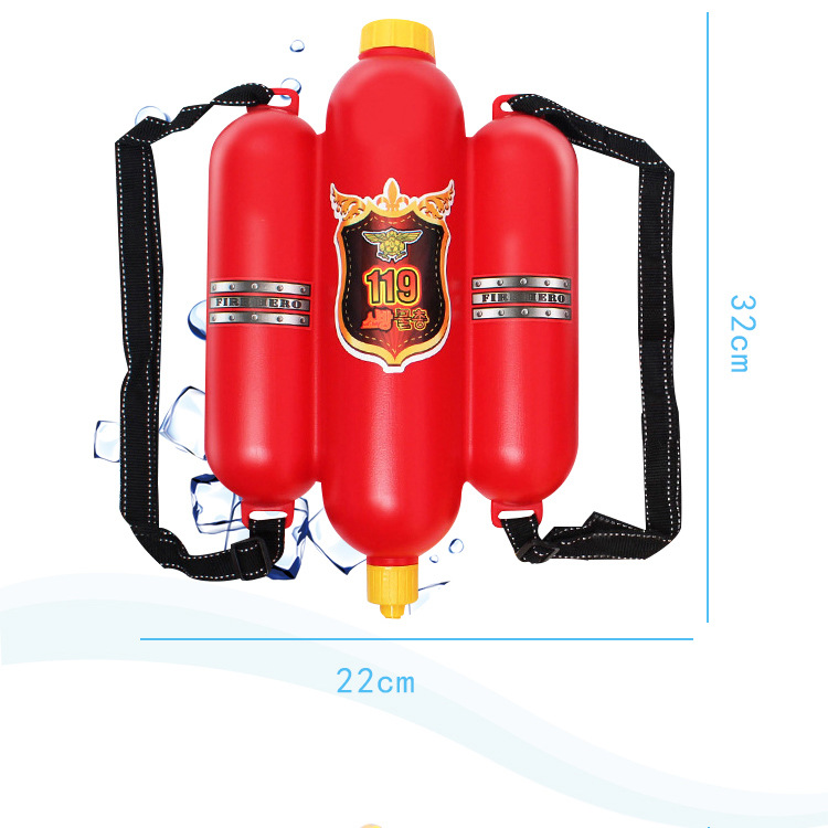 Toy Water Gun Children's Fire Fighting Backpack Water Gun Toy Summer Beach Paddle Toy Pump Type High Pressure Gun