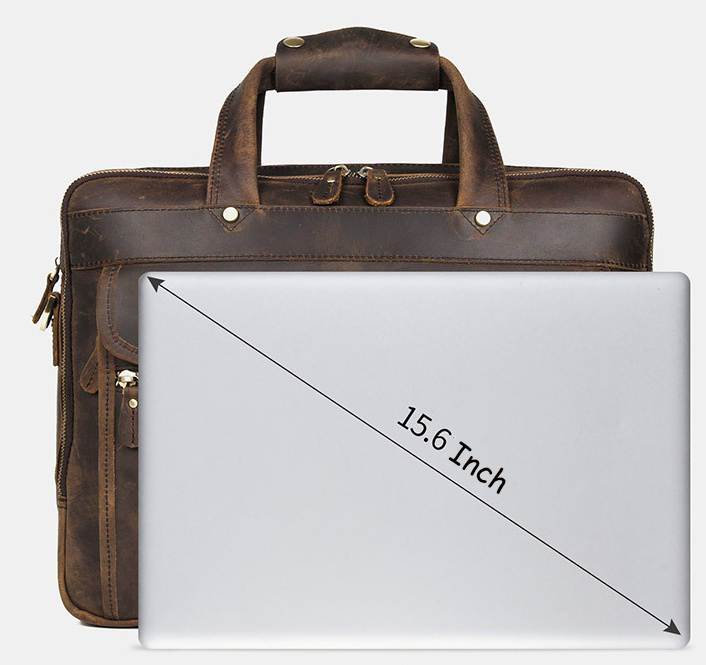 H6e380a4aff2e453a872baa87d0f89ee50 MAHEU Vintage Leather Mens Briefcase With Pockets Cowhide Bag On Business Suitcase Crazy Horse Leather Laptop Bags 2019 Design