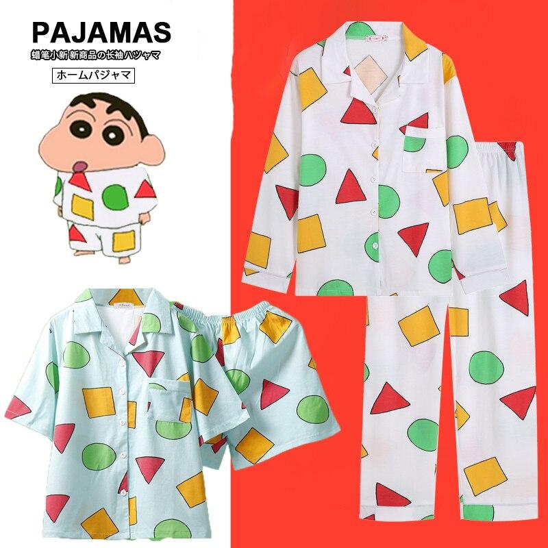 Hrajuku японская Пижама, пижамы из хлопка, женские пижамы с коротким рукавом, домашняя одежда, ночная рубашка в стиле аниме Вечерние