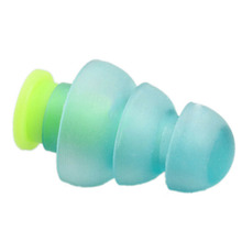 Portable Reusable Mouldable Studying Silicone Christmas Tree Shape Durable Concerts Sleeping Ear Plug Home Noise Cancelling