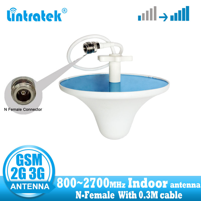 Indoor Antenna 800Mhz To 2700MHz GSM DCS CDMA WCDMA UMTS Network 2G 3G 4G Internal Antenna For Cellular Siganl Booster