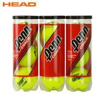 3Pcs/ Tube Original HEAD Tennis Balls Training Balls PENN COACH Durable Tennis Ball Professional Head Tennis Balls Tennisball