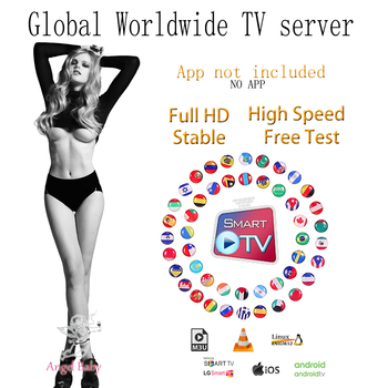 World TV box only Android Smart 3devices Support m3u PC no channels or APP included