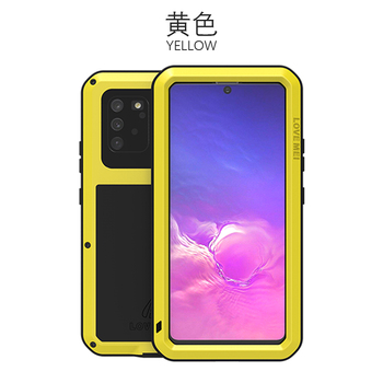 360 Full Protect For Samsung Galaxy S10 Lite Case Funda Silicone Shockproof For Samsung Note 10 Lite Cases S10Lite 2020 Cover - For Note10 Lite, Yellow