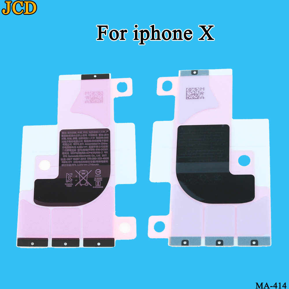 Jcd 1 Stks/partij Batterij Sticker Voor Iphone 11 Pro Max X 5 S 6 6 S 7 8 Plus batterij Lijm Tape Strip Tab Vervanging Deel