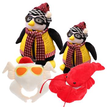 2019 25cm 40cm śliczne Joey #8217 s Friend HUG Penguin pluszowe zabawki TV poważne przyjaciele Rachel Penguin wypchane zwierzę lalki świąteczne prezenty tanie i dobre opinie League Of Loveliness COTTON not suit for under 3years Pp bawełna 2-4 lat 5-7 lat 8-11 lat 12-15 lat Dorośli 25-40cm Unisex