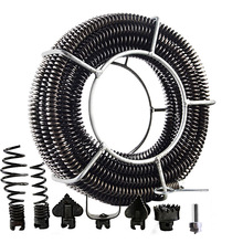 Spring-Set Extension Sewer Connector Dredger-Compression-Spring with for 10-100mm-Pipe