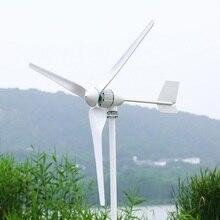 цена на CE 500W Wind Power Turbine  Generator 12v/24v 3 Blades with Free Charge Controller