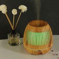 Großhandel 400 Ml Luftbefeuchter aushöhlen Nacht Licht Luftbefeuchter Holzmaserung Mini Luftbefeuchter Luft Reiniger Aroma Diffusor-in Luftbefeuchter aus Haushaltsgeräte bei