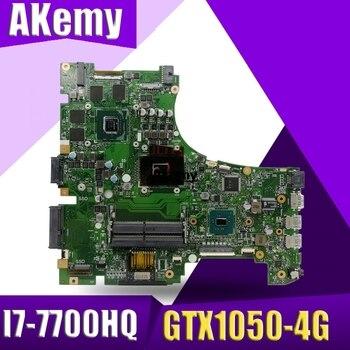 Akemy GL553VD Laptop motherboard for ASUS ROG GL553VE GL553V FX53VD ZX53V original mainboard I7-7700HQ GTX1050-4G