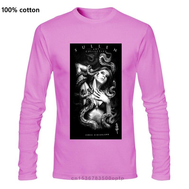SULLEN CLOTHING Tangled T-Shirt Black M-5XL NEWsummer Hot Sale  New Tee Print  Men T-Shirt Top