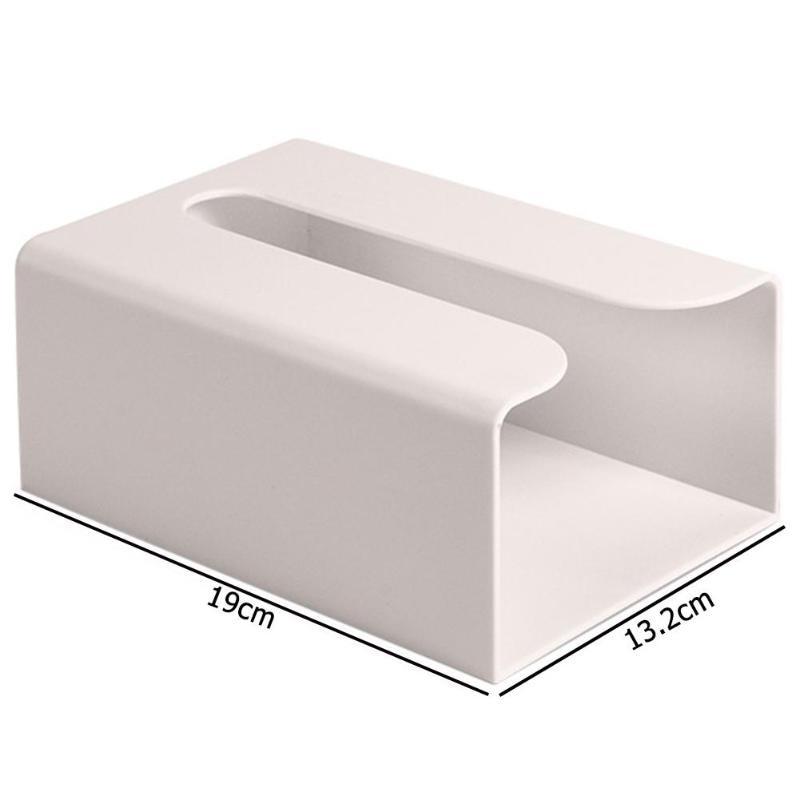 Настенная коробка для салфеток, кухонная коробка для хранения бумаги, держатель для бумажных полотенец, коробки для туалетных салфеток, бумажная коробка для хранения - Цвет: Apricot