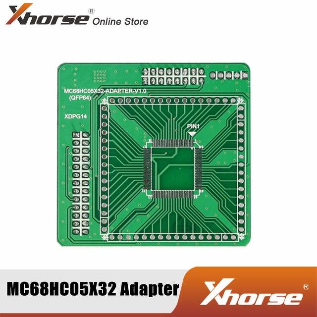 Xhorse XDPG14CH MC68HC05X32(QFP64) adaptörü için VVDI PROG