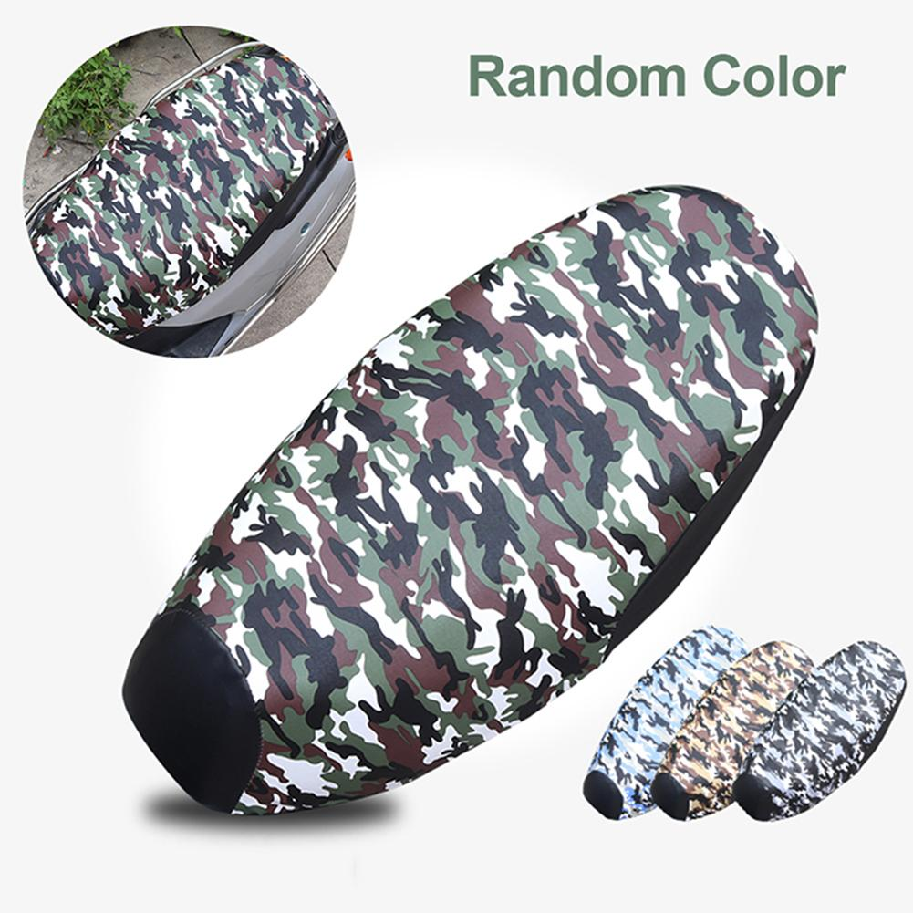 Motorcycle Seat Cushion Cover Scooter Motorcycle Seat Cover Waterproof UV-resistant Cushion Cover Motorcycle Accessories S-XXL