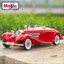 Maisto 1:18 Classic car collection car alloy car model simulation car decoration collection gift toy Die casting model boy toy(China)
