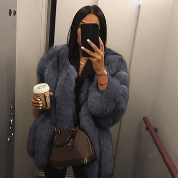 chaquetas mujer 2019 Women Teddy Coat Mink Coats Winter Top Fashion Fur Coat Elegant Thick Warm Outerwear Fake Fur Jacket D25 loozykit elegant faux fur coat women 2019 autumn winter thick warm soft teddy coats faux fleece jacket pocket zipper outerwear