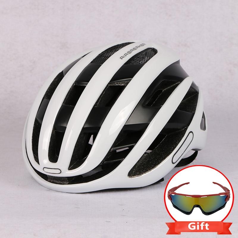 Велосипедный шлем, гоночный дорожный велосипед, аэродинамический ветрозащитный шлем, мужские спортивные велосипедные шлемы Casco Ciclismo
