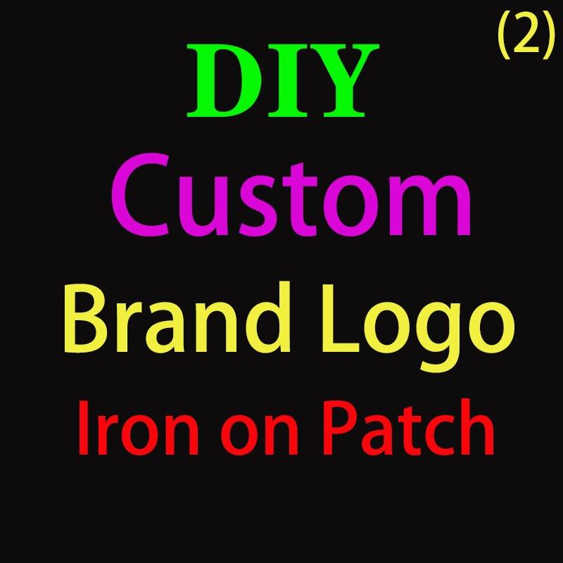 DIY логотип бренда на заказ, патчи для обуви на одежду, термотрансферные наклейки для одежды, термотрансферы, моющиеся Q