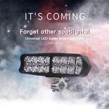 3,55 4,9 6,5 zoll 10 W 15W 20W Offroad DRL LED Arbeits-licht-flut-lichtstrahl Scheinwerfer 12V tagfahrlicht Licht Auto Zubehör