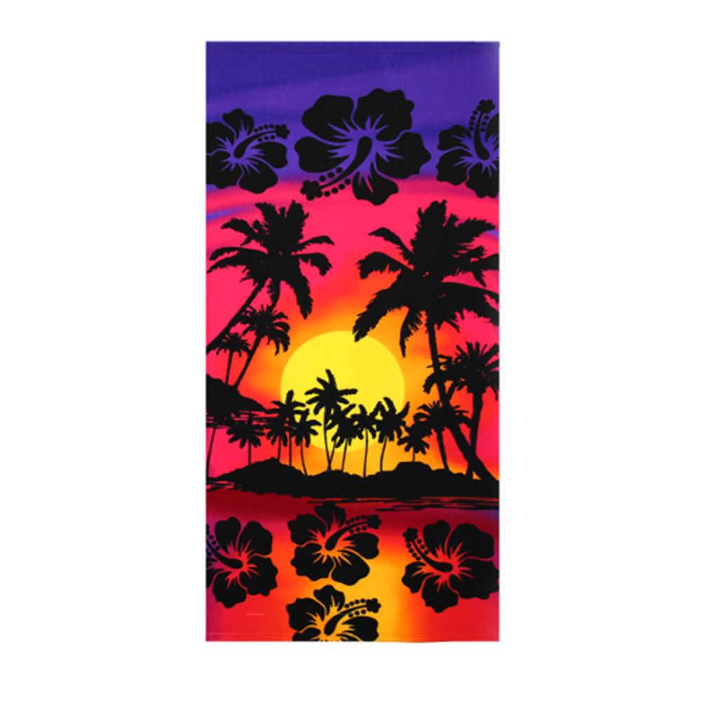 150*70 verão toalha de praia para adultos flamingo/frutas/bandeira impressão chuveiro toalha de banho secagem rápida esteira de banho toalha de praia cobertor de viagem